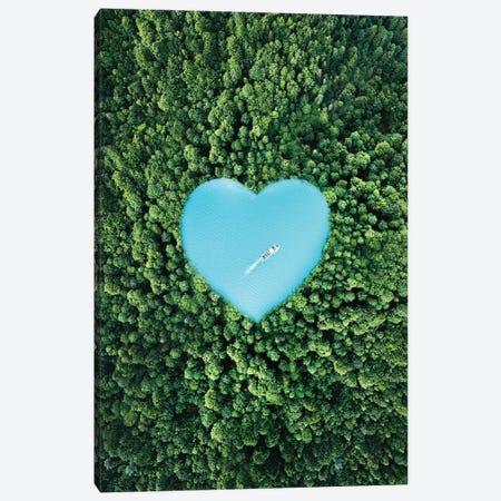 Heart Lake Canvas Print #RNG18} by Ruvim Noga Canvas Art