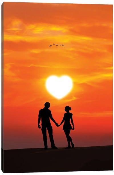 Valentines Day Canvas Art Print