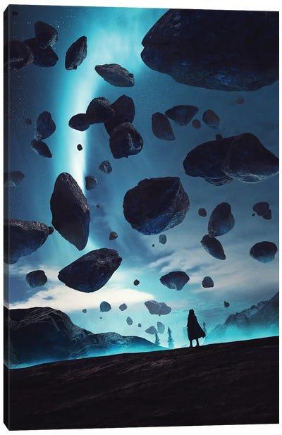 Asteroid Belt Canvas Art Print