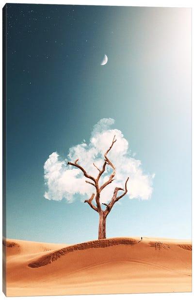 Cloud Tree Canvas Art Print