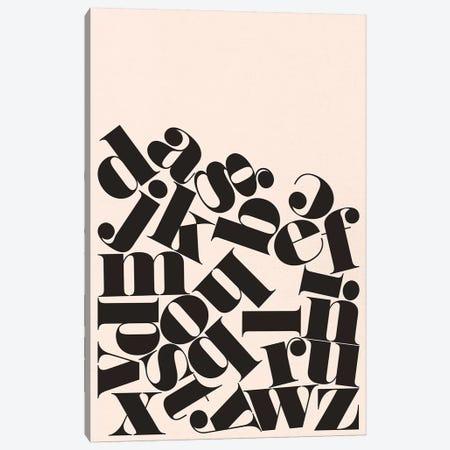 Alphabet Canvas Print #RNH27} by Reign & Hail Canvas Print