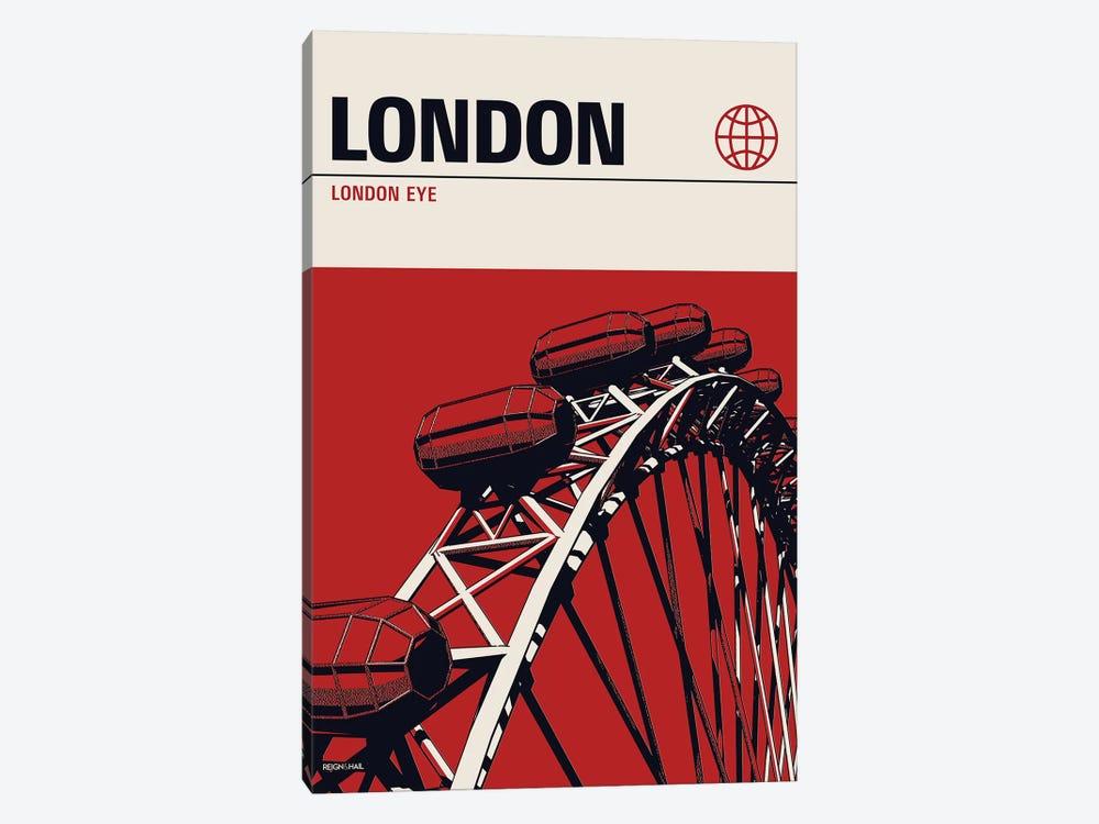 London by Reign & Hail 1-piece Art Print