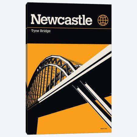 Newcastle Canvas Print #RNH37} by Reign & Hail Canvas Artwork