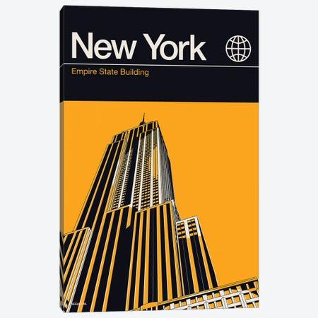 New York Canvas Print #RNH38} by Reign & Hail Art Print