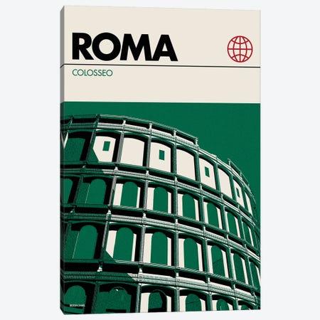 Rome Canvas Print #RNH42} by Reign & Hail Canvas Wall Art