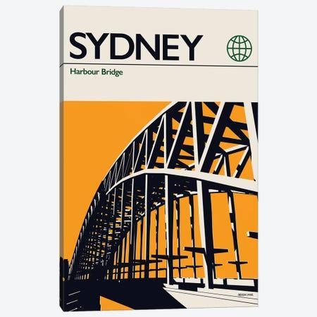 Sydney Canvas Print #RNH45} by Reign & Hail Canvas Print