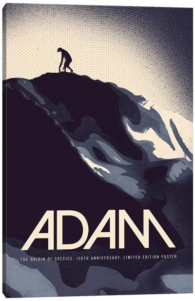Adam - Darwin Print Canvas Art Print