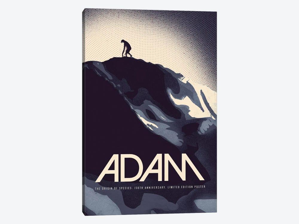Adam - Darwin Print by Reign & Hail 1-piece Art Print
