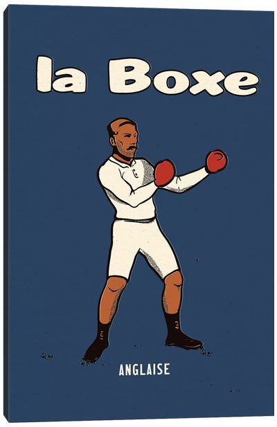 Boxing - Queensberry Rules Canvas Art Print