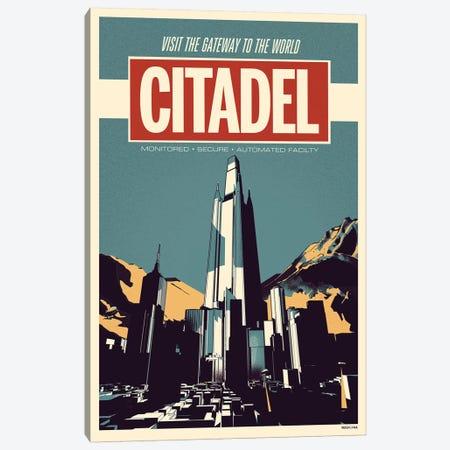 Citadel - Sci Fi Print Canvas Print #RNH50} by Reign & Hail Canvas Print