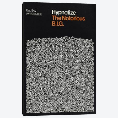 Hypnotize By Notorious BIG Lyrics Print Canvas Print #RNH64} by Reign & Hail Canvas Print