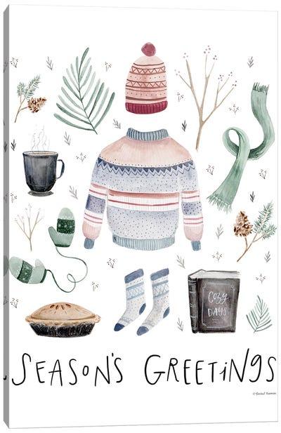 Season's Greetings Canvas Art Print