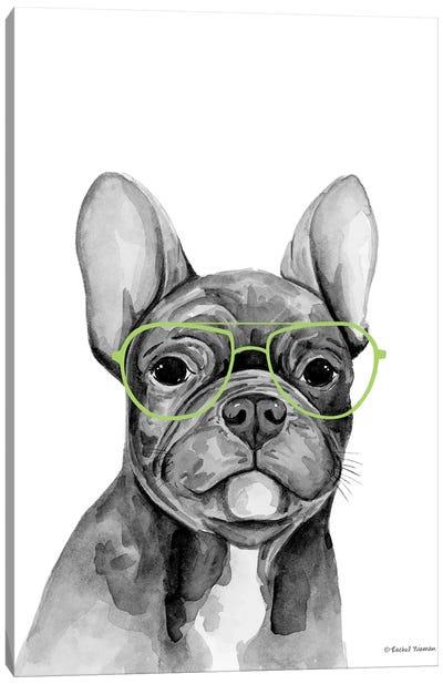 Smart Dog Canvas Art Print