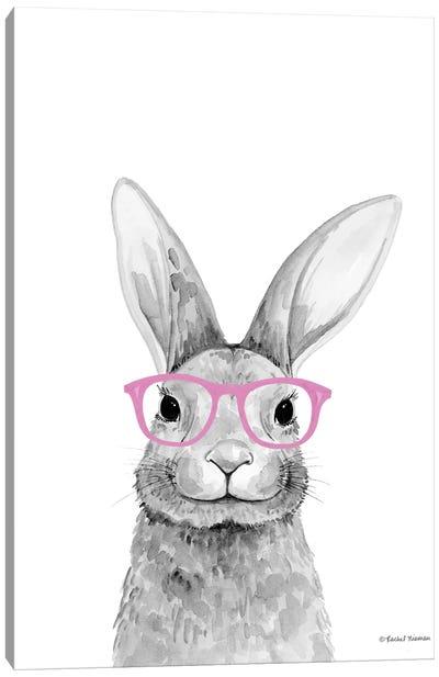 Smart Rabbit Canvas Art Print