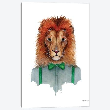 Lovely Lion Canvas Print #RNI16} by Rachel Nieman Canvas Print