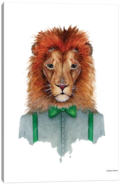 Lovely Lion Canvas Art Print