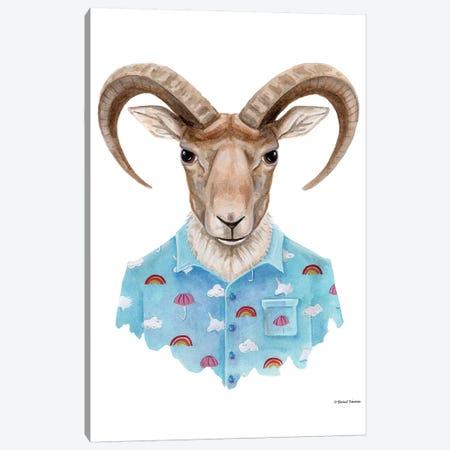 Uriel In A Unicorn Shirt Canvas Print #RNI25} by Rachel Nieman Canvas Art