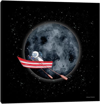 Sail to the Moon Canvas Art Print