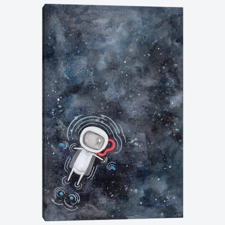 Swim in Space Canvas Print #RNI46} by Rachel Nieman Canvas Art