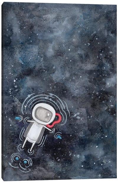Swim in Space Canvas Art Print