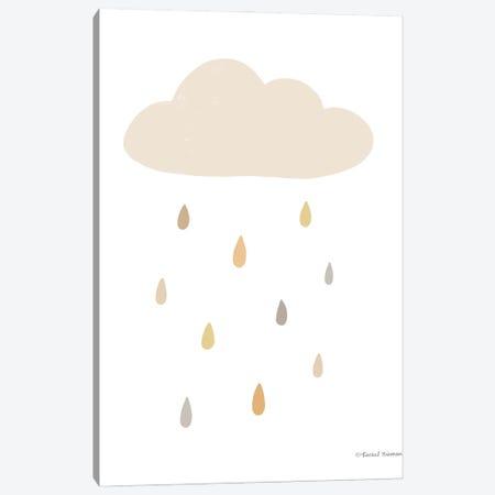 Happy Cloud Canvas Print #RNI54} by Rachel Nieman Canvas Print
