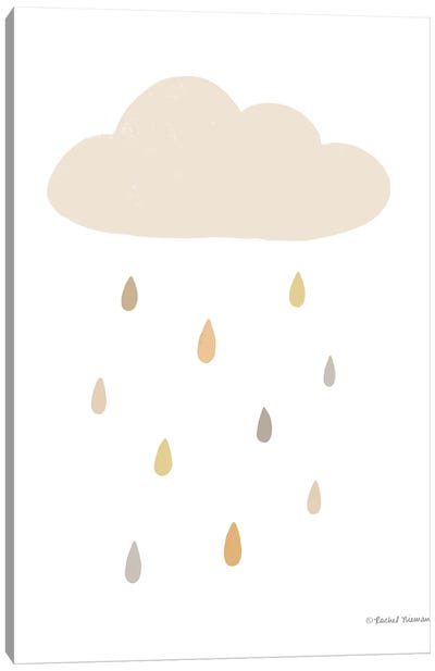Happy Cloud Canvas Art Print