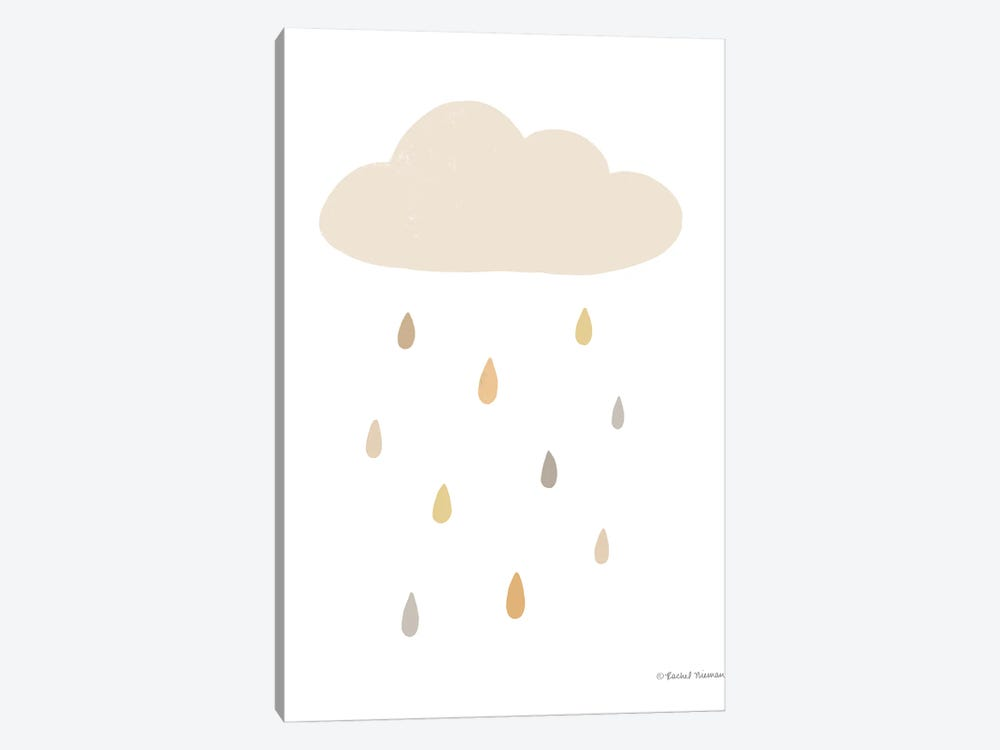 Happy Cloud by Rachel Nieman 1-piece Art Print