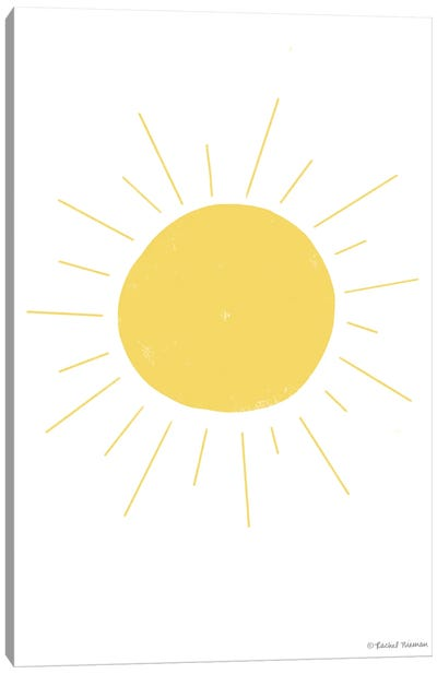 Happy Sun Canvas Art Print