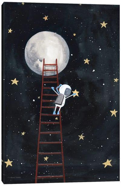 Grab a Star Canvas Art Print
