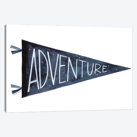 Adventure Pennant Canvas Print #RNI66} by Rachel Nieman Canvas Art