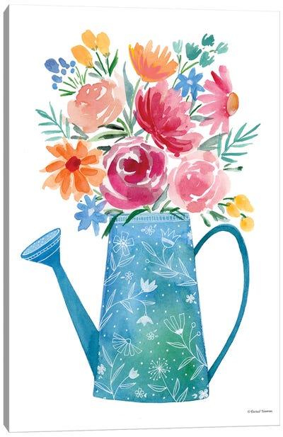 Garden Watering Can Canvas Art Print