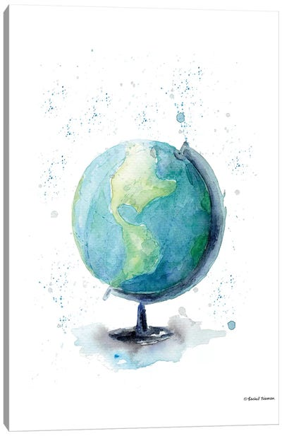 Globe Canvas Art Print