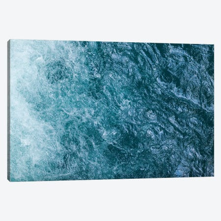 Cool Waters Out To Sea I - Horizontal 3-Piece Canvas #RNN11} by Ben Renschen Canvas Print