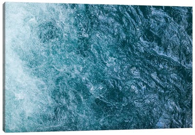 Cool Waters Out To Sea I - Horizontal Canvas Art Print