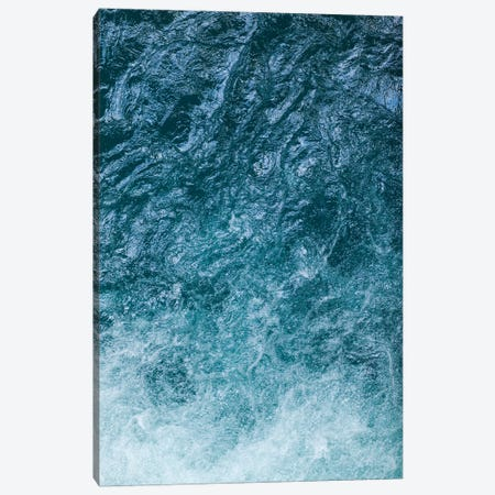Cool Waters Out To Sea II - Vertical 3-Piece Canvas #RNN12} by Ben Renschen Canvas Print