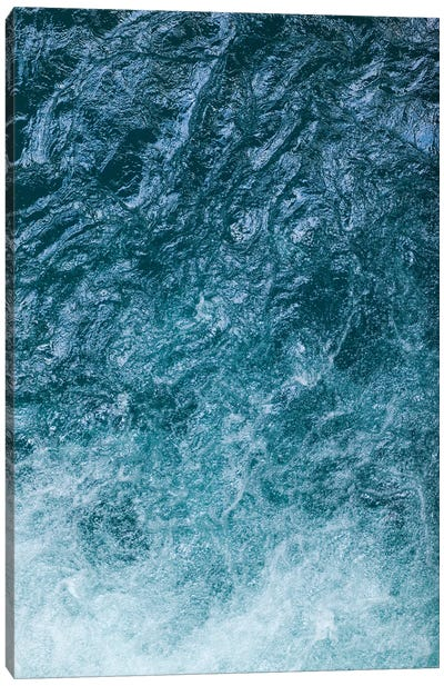 Cool Waters Out To Sea II - Vertical Canvas Art Print