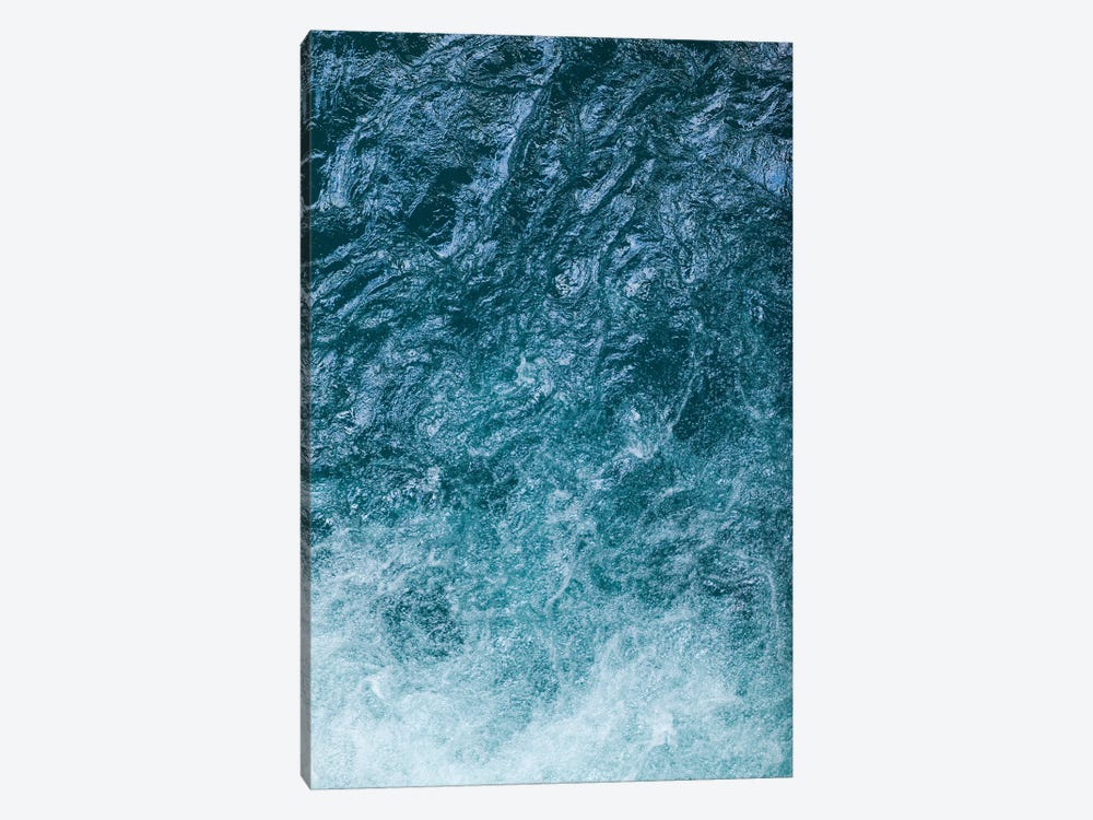 Cool Waters Out To Sea II - Vertical by Ben Renschen 1-piece Canvas Artwork