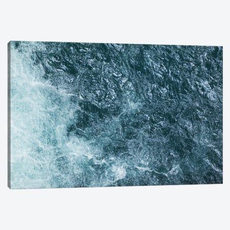 Cool Waters Out To Sea III - Horizontal 3-Piece Canvas #RNN13} by Ben Renschen Art Print