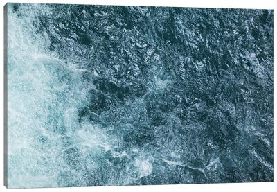 Cool Waters Out To Sea III - Horizontal Canvas Art Print