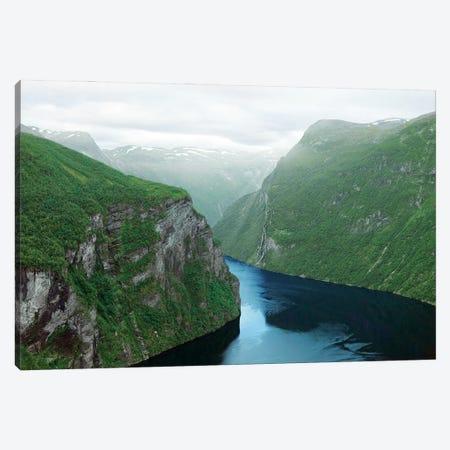 Norway'S Geiranger Fjord Canvas Print #RNN42} by Ben Renschen Canvas Wall Art