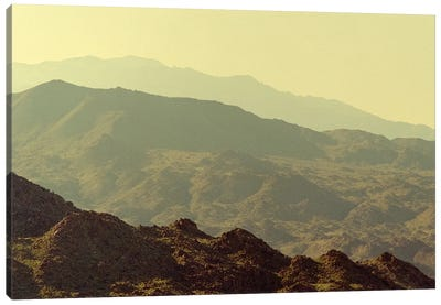 Palm Springs Desert Mountains II Canvas Art Print