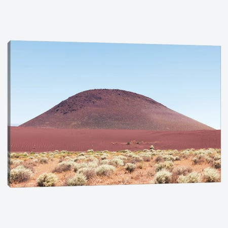 Red Sand Mound In California Desert Canvas Print #RNN50} by Ben Renschen Canvas Art Print