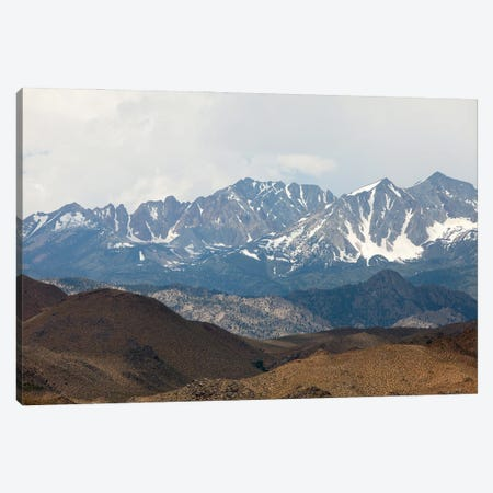 Sierra Nevada Mountains Of California Canvas Print #RNN53} by Ben Renschen Canvas Art Print