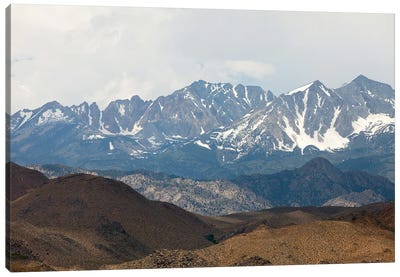 Sierra Nevada Mountains Of California Canvas Art Print