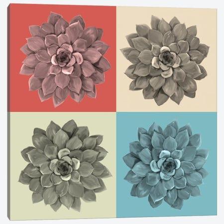 Elegant Sunflower Canvas Print #RNO2} by Rnob Canvas Art