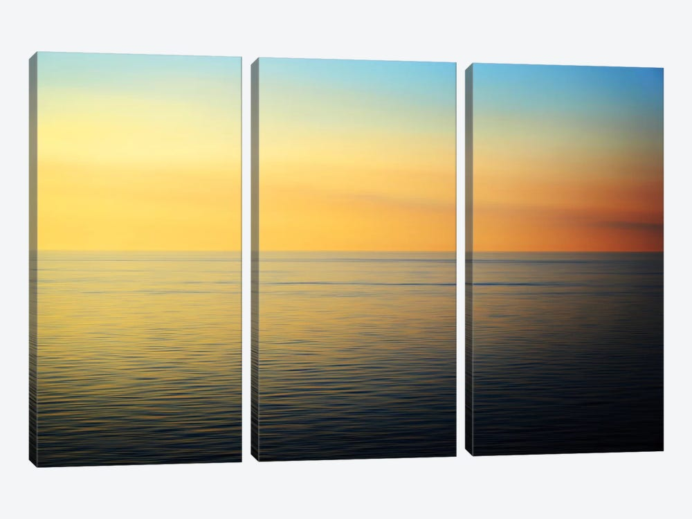 Quiet Waters by John Rehner 3-piece Canvas Print