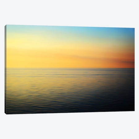 Quiet Waters Canvas Print #RNR1} by John Rehner Canvas Art