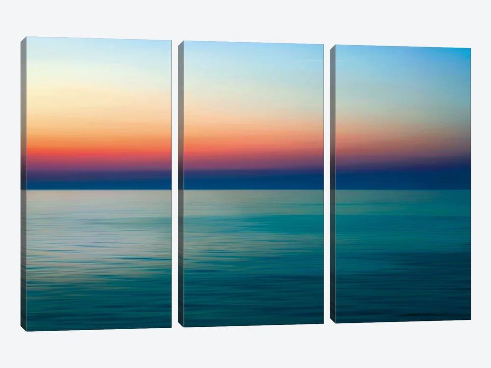Quiet Waters I by John Rehner 3-piece Canvas Artwork