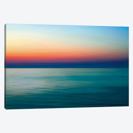 Quiet Waters I Canvas Print #RNR2} by John Rehner Canvas Artwork