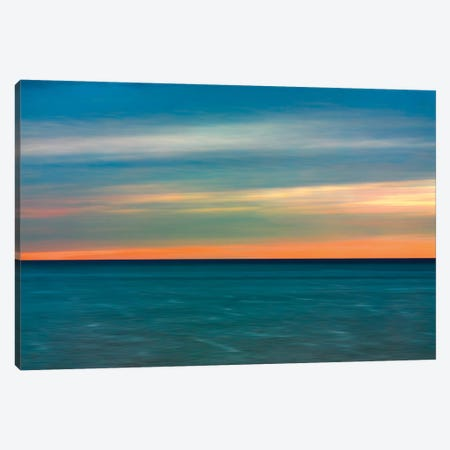 Quiet Waters II Canvas Print #RNR3} by John Rehner Canvas Artwork